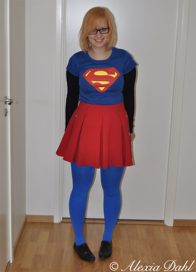 Dagens outfit – superhelte edition