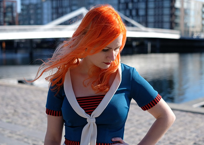 Dagens Outfit #46 – Ohoy sailor!