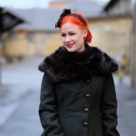 The Arlene coat from Collectif Vintage