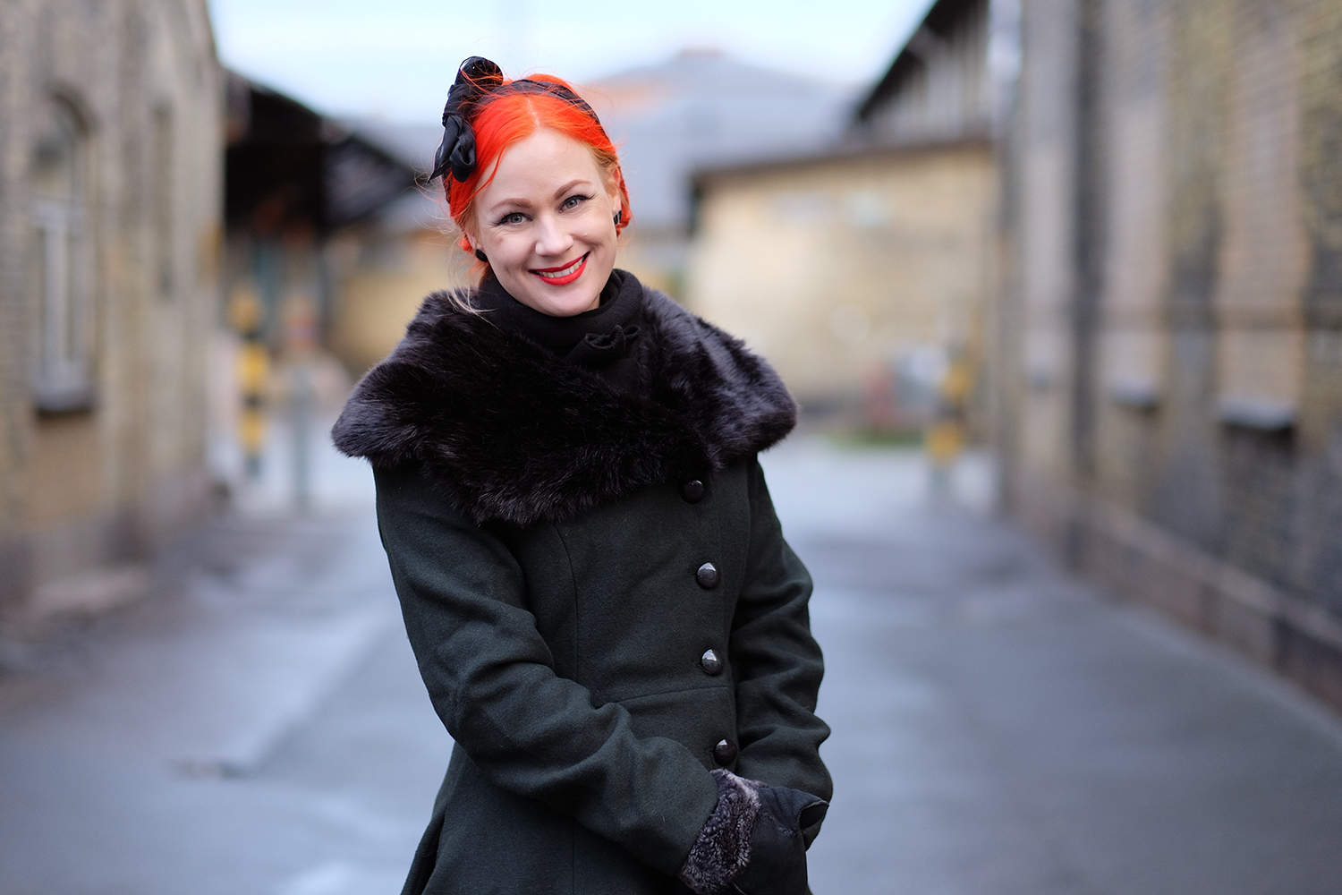 The Arlene coat from Collectif