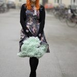 A mint coloured petticoat from Banned