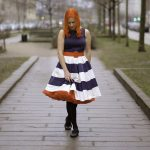 Dolly & Dotty – The Anna 50s swing dress and a Sams petticoat