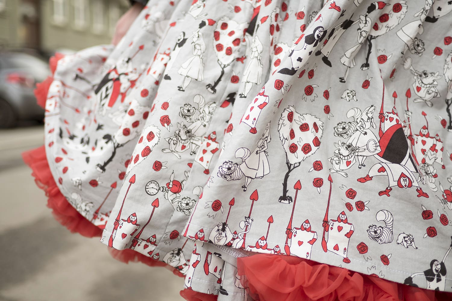 Alice in wonderland dress and sams petticoat