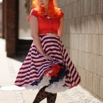 A Collectif dress and a Doris Designs petticoat