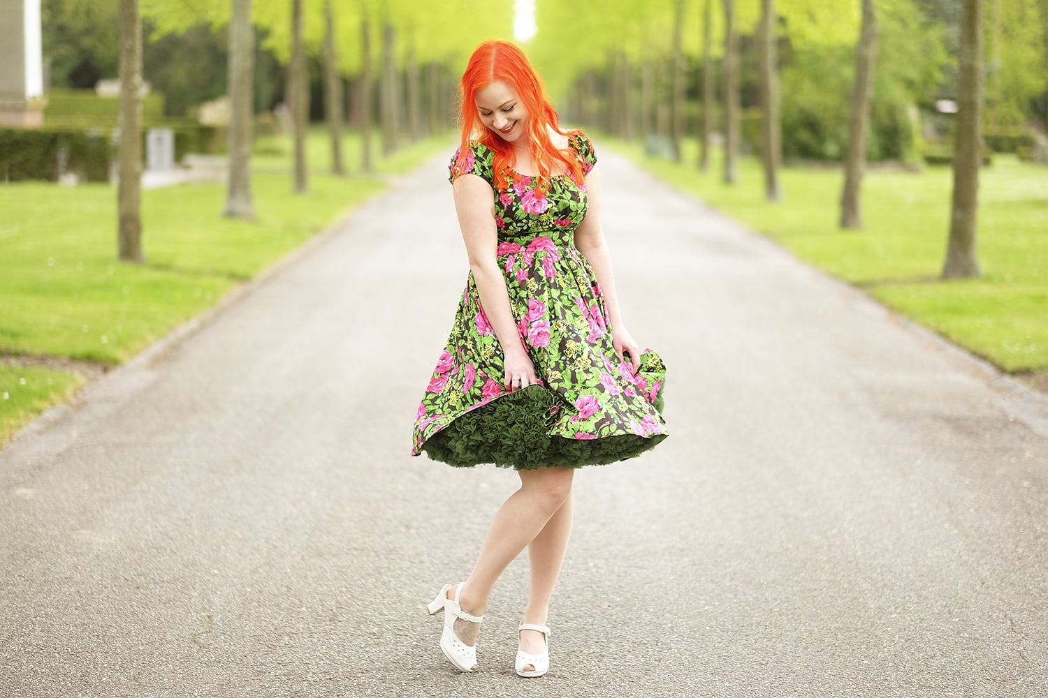 En Pinup Couture sommerkjole
