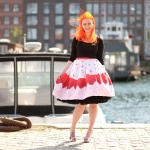 A Unique Vintage cupcake skirt