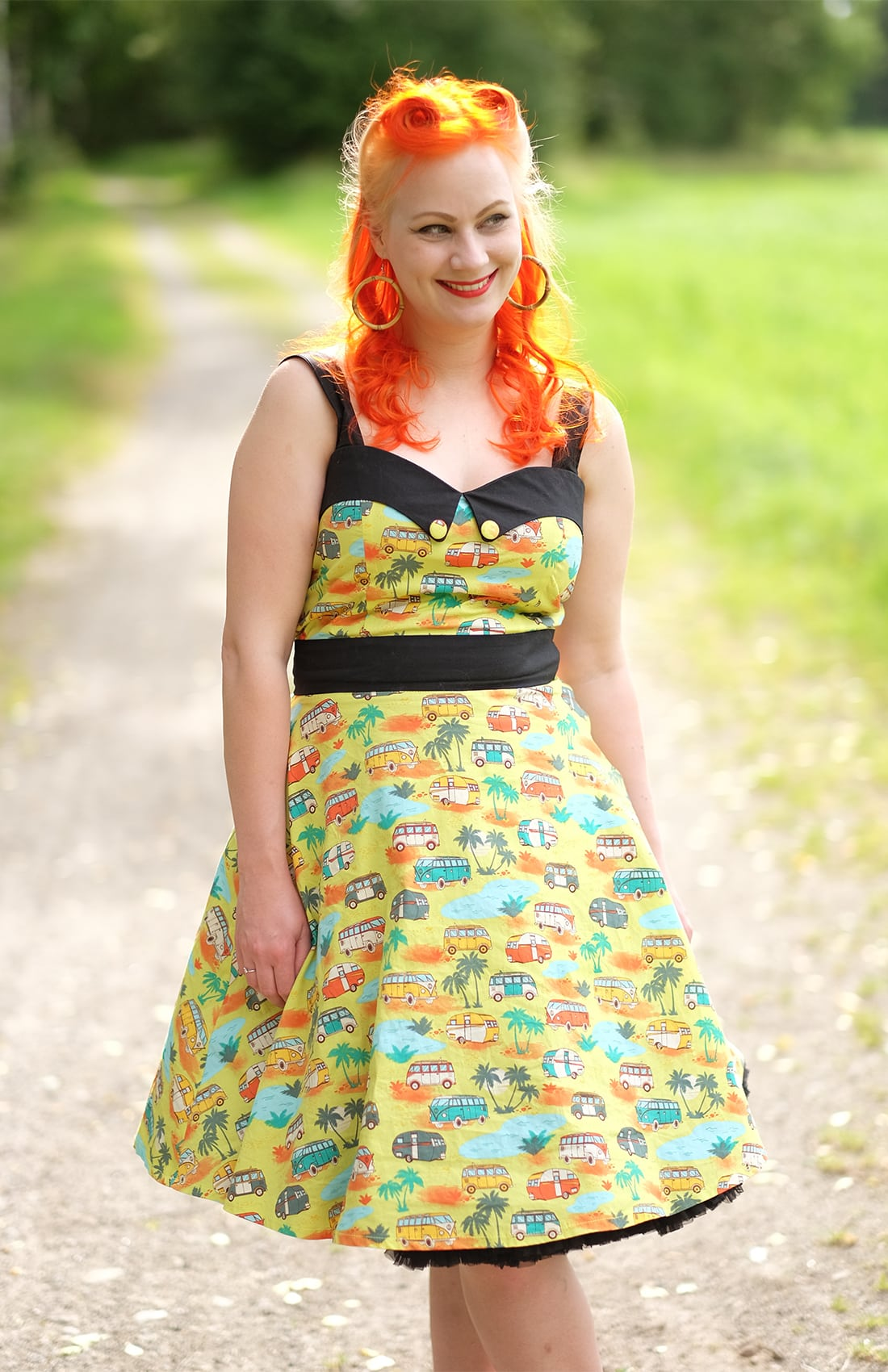 AlexiaDahl.com - Banned Apparel 50s Starlight Dress