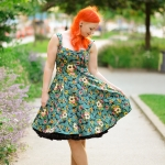 Dancing days by Banned Apparel green dress