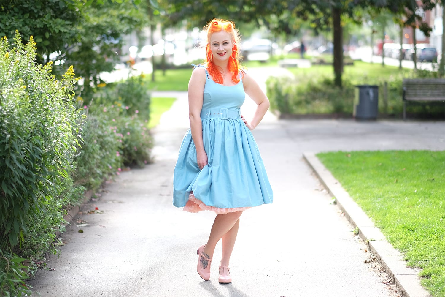 AlexiaDahl.com - Collectif Jade swing dress