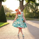 The Collectif Aida Zak Sandra Hawaiian Print dress
