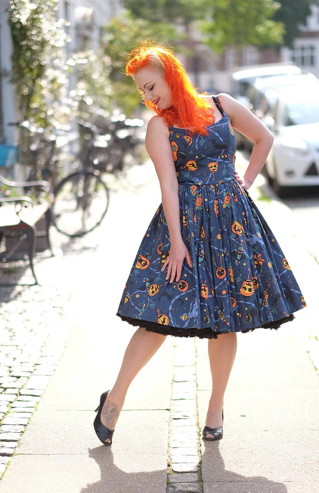 AlexiaDahl.com - Halloween dress by Pinup Girl Clothing