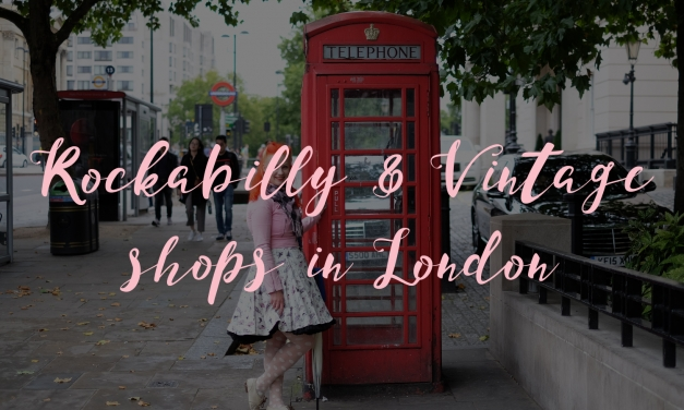 Rockabilly and vintage shops in London