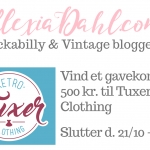 Give-Away! Vind et gavekort på 500 kr. til Tuxer Retro Clothing