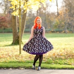 A Lady V London Panda Extravaganza dress and a Doris Designs petticoat