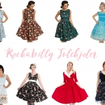 It's time to bring out the Rockabilly Christmas dresses