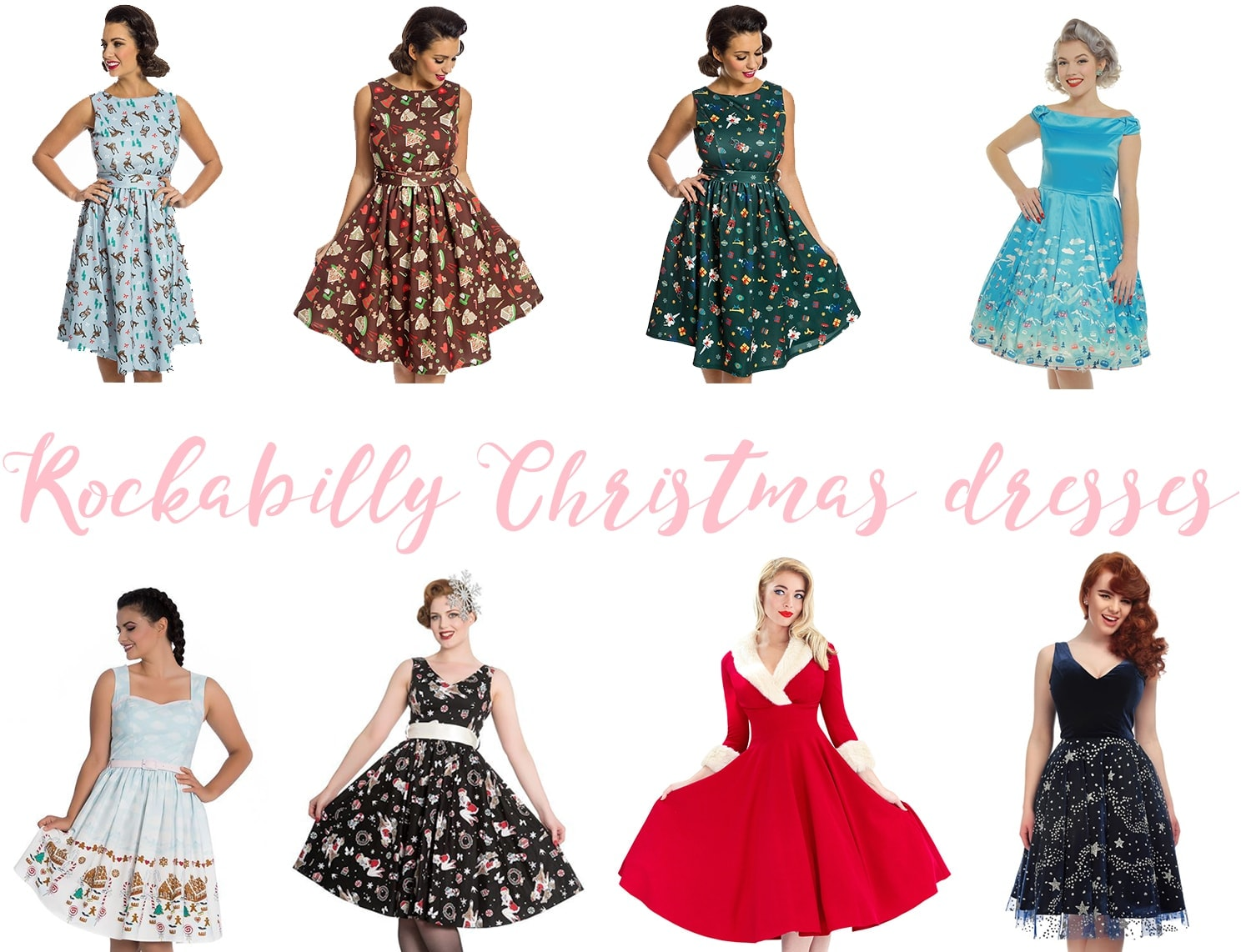 Rockabilly Christmas Dresses