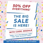 It's that time of year again… -50% off everything from Collectif