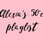 My 50s music playlist