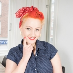 "Video: Dagens look ""Rosie the Riveter"" look"