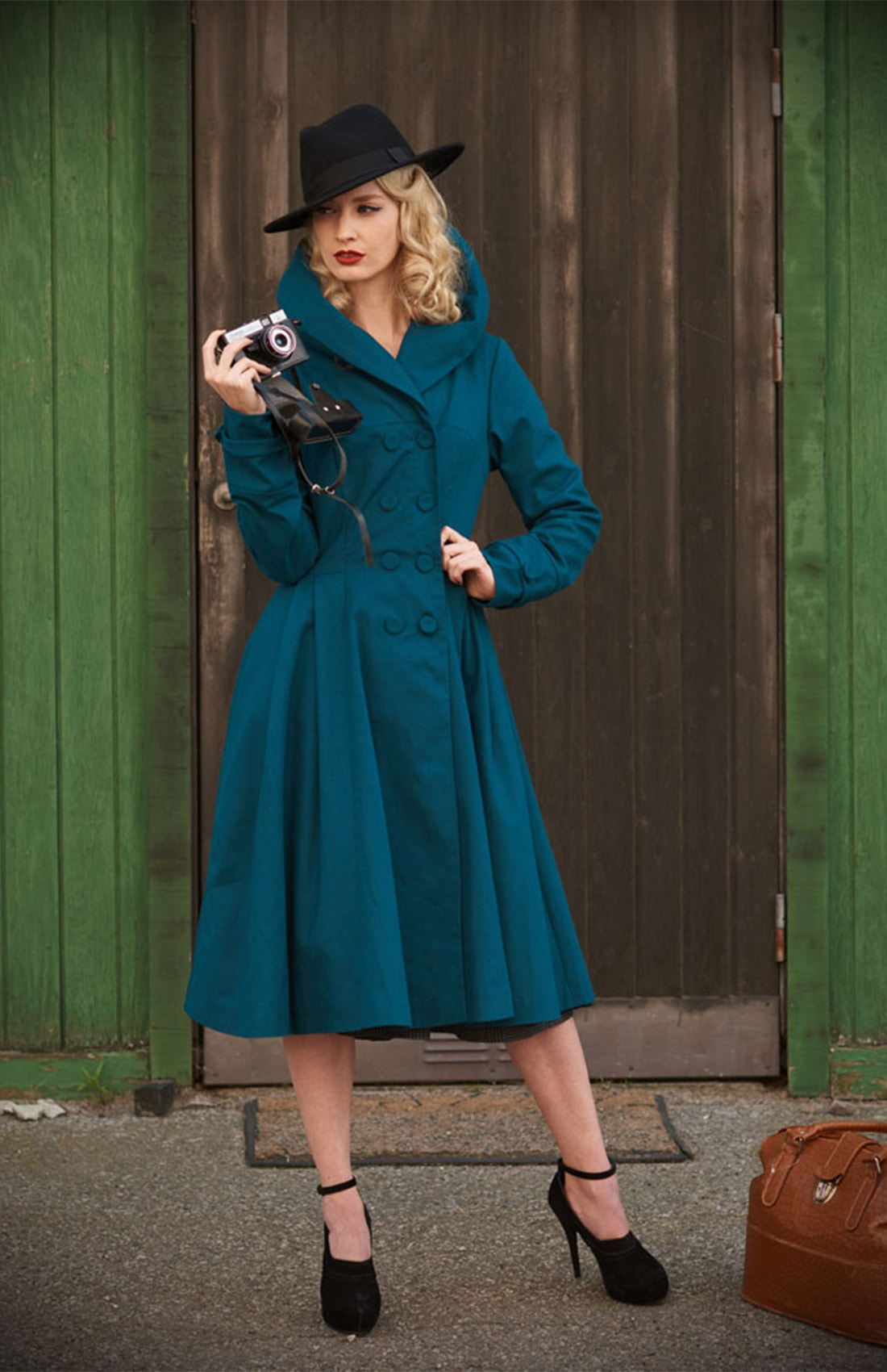 MissCandyfloss trench teal